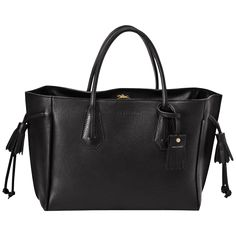 トートバッグ M - ペネロペ - ハンドバッグ - Longchamp - ブラック - Longchamp 日本