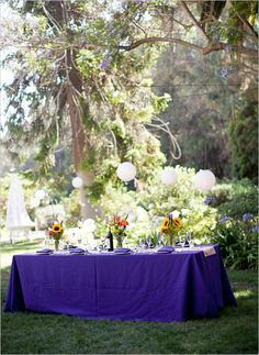 Seating and decorations