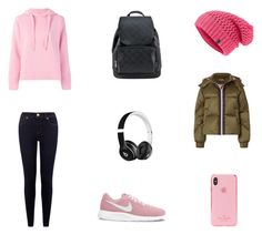 Bez tytułu #95 by wiki208 on Polyvore featuring moda, Closed, Ganni, NIKE, The North Face, Kate Spade and Beats by Dr. Dre