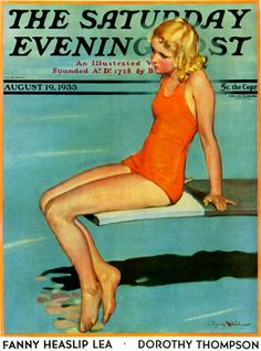 Google Image Result for http://www.saturdayeveningpost.com/wp-content/uploads/satevepost/sitting-on-the-diving-board-by-penrhyn-stanlaws.jpg