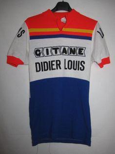 Maillot cycliste vintage Gitane Didier Louis - 2