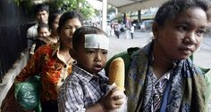 Did Cambodian children die because of steroid use? Mixed opinions.