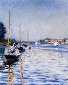 Гюстав Кайботт. Лодки на Сене