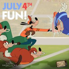 Have a Goofy time this Fourth of July! #July4th