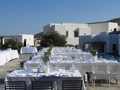 Just before the great event! #Wedding #AnemiHotel #Folegandros