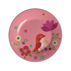 Bird Plate by Mini Labo - claradeparis.com ♥ Assiette Oiseau Mini Labo