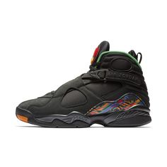 quite nice 0dca2 f66b3 Air Jordan Retro 8 Men s Shoe Size 18 (Black) Running Sneakers, Sneakers  Shoes