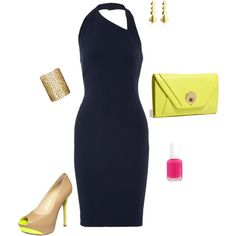 """""""Color pop"""" by shannonos on Polyvore"""
