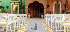 Boojum Tree Hidden Garden - Phoenix Wedding and Reception Venue  http://www.boojumtree.com/bird-of-paradise-package