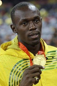 The most exciting athlete in all of track and field, Usain Bolt literally set the gold standard in his breathtaking 2008 performance in Beijing. The Jamaican joined American Carl Lewis as the only athlete to win three golds in sprinting races with victories in the 100, 200 and 4 x 100 relay, but became the first athlete to set world records in winning each event.