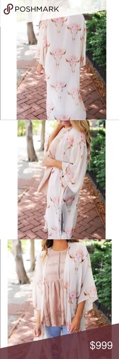 COMING SOON!!! Coming soon!!!!! This Floral Side Slit Boho Kimono is the ultimate way to add some feminine edge to your outfit! This thin, long and flowy garment is perfect if  you ever just want that extra layer to feel comfortable or if you just need something to complete an otherwise drab and boring look, this is the simple, elegant solution! You'll love having this in your closet! Other