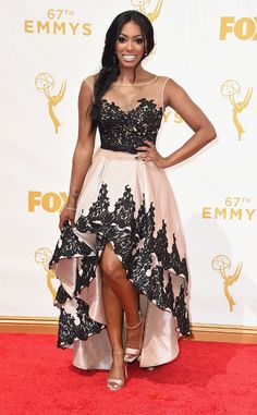 Porsha Williams from 2015 Emmys: Red Carpet Arrivals