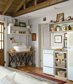 Studio kitchen made over