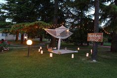 Wedding pool party giardino