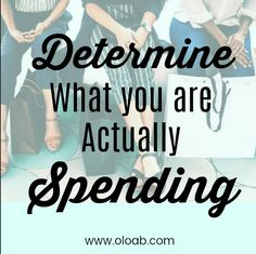 In order to find out where the holes in your spending are, it's important to do a spending analysis to determine where your money is actually going. Life On A Budget, Our Life, Debt, Rid, How To Find Out, Budgeting, Money, Lifestyle