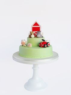 Peaceofcake ♥ Sweet Design: Farm Cake • Bolo Quinta