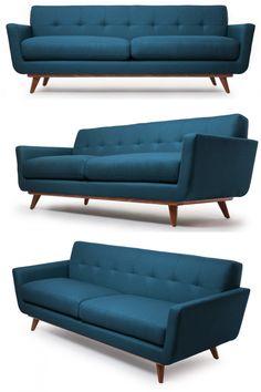 Mid Century Modern Sofa – Nixon Sofa -- Who has $1900 I can borrow indefinitely?