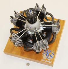 Fully functional motor.  Awesome Machinework