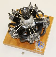 Fully functional motor.  Awesome Machinework