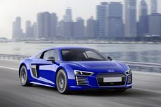2015 Audi R8 E-Tron Piloted Driving Concept