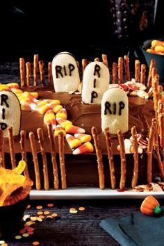 Whether you were born on the spookiest day of the year or you're just obsessed with Halloween, we've got 27 spooky Halloween birthday cakes that are perfect for the occasion. Featuring favorite fall flavors like pumpkin, warm spices, candy, chocolate, and a little bit of Halloween fright, these cakes make for a scrumptious celebratory centerpieces#halloween #halloweenrecipes #myrecipes
