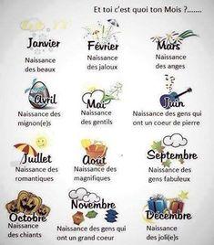 mois des signes du zodiaque