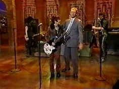 """Joan Jett performs """"Love Is All Around"""" (a.k.a. the theme song to The Mary Tyler Moore Show"""")   on the Late Show with David Letterman"""