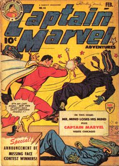 Mr. Mind loses his mind - Captain Marvel - Marvel Comics