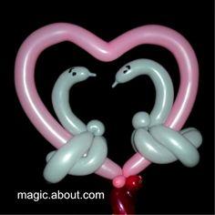 48 Balloon Animals You Can Make: Romantic Balloon Animals (various versions)