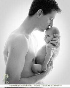 backlit newborn session