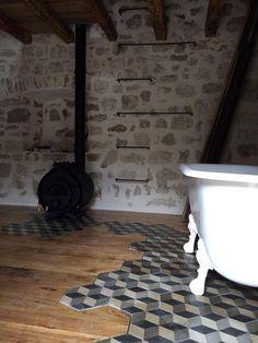Clawfoot Bathtub, Bath Mat, Rugs, House, Home Decor, Farmhouse Rugs, Decoration Home, Home, Haus