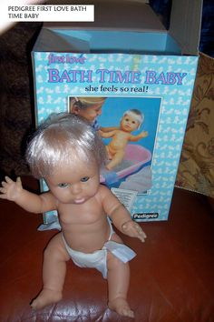 BATH TIME BABY PEDIGREE No One Loves Me, Bath Time, First Love, Dolls, Feelings, Face, Heaven, Collection, Baby Dolls