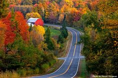 quebec eastern townships in the fall                              …