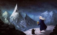 Ice King, Ivan Mitrohin on ArtStation Adventure Time Characters, Adventure Time Art, Ice King Adventure Time, Time Cartoon, Cute Drawings, Brave, Animation, Fan Art, Deviantart