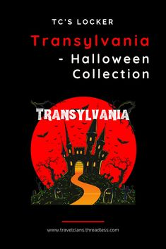 Halloween Special Edition Collection from TC's Locker - the online store from Travel Clans. Our travel store apparel line includes T-shirts to Tank Tops, Hoodies to Sweatshirts and much more. You can also find accessories such as mobile phone covers, beach towels, mugs, and bags. Don't worry we haven't forgotten about Home Decor for you crazy travel lovers! #travelclans #TCsLocker #transylvania #Tshirts #travelstore