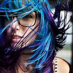 colorful hair :>