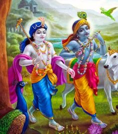 Govinda and Dauji.