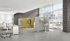 Syneo loungemeubelen zijn een ideaal en integraal bestanddeel van open-space-concepten  | Office furniture | Kantoormeubels | Office design | Office interior