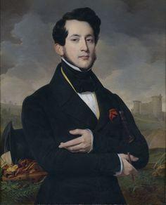 Portrait d'Eugène Guyot, sous-préfet de vendôme , 1837