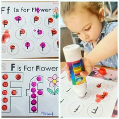 Bingo Dabber, Letter Recognition, Garden Theme, Early Literacy, Toddler Crafts, Fine Motor Skills, Centre, Preschool, Dots