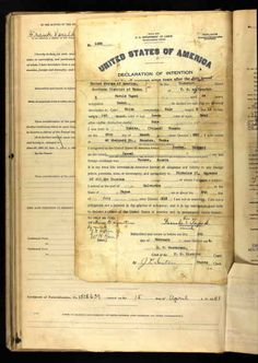Favule Tapek Age: 24 Birth Date: 25 Mar 1889 Birth Place: Esbitz, Russia Record Date: 4 Feb 1914 Court District: Southern District of Texas Court Place: Houston, Texas, USA Record Type: Naturalization Petition Declaration Number: 1236 http://sharing.ancestry.com/4241405?h=168594&utm_campaign=bandido-webparts&utm_source=post-share-modal&utm_medium=share-url