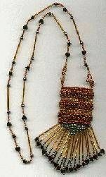 Weekly Feature - African Amulet Bag I  #heartbeadwork