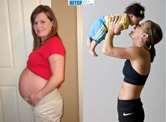 Gwen used the Hitch Fit Post Pregnancy Program to get her Body back. The most amazing part of this story is she is now smaller and in better shape then she was before having her baby. LADIES IT CAN BE DONE! by Naghma Post Baby Workout, Post Pregnancy Workout, Post Pregnancy Body, Post Baby Body, Body After Baby, Heath And Fitness, Get In Shape, Get Healthy, Stay Fit