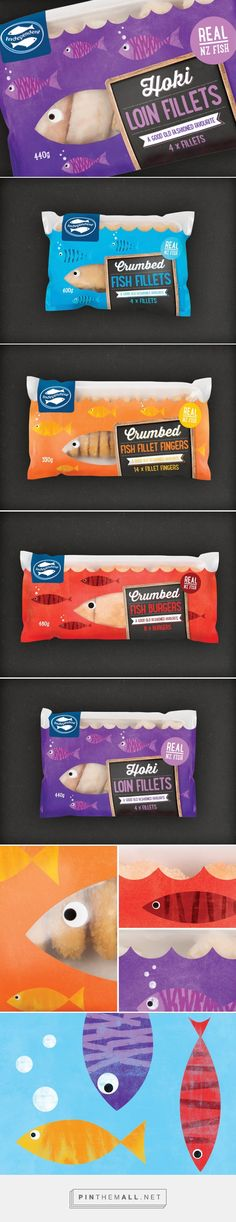 Independent Fisheries Packaging designed by Plato Creative​ - http://www.packagingoftheworld.com/2015/11/independent-fisheries.html