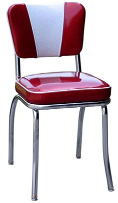 1950's Retro Chrome Diner Chair - Made in USA BudgetBarStools http://www.amazon.com/dp/B004B6ZVFI/ref=cm_sw_r_pi_dp_KNA8vb1SXA481