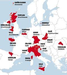 Na Catalonië: ook in deze Europese regio's is er een schreeuw naar onafhankelijkheid