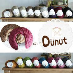 Z457 ★ 33 Sierra 480 Yen to 320 Yen crochet knitting ♪ braided Donut ☆ delicious? A yarn is here!