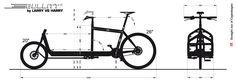 Technical Info for Bullitt Cargo bike frames. Tricycle, Bullitt Cargo Bike, Bike Gadgets, Velo Cargo, 3d Cad Models, Bike Trailer, Scooter Girl, Pedal Cars, Bike Frame