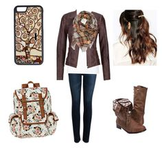 """""""Untitled #98"""" by a-hidden-secret ❤ liked on Polyvore featuring AG Adriano Goldschmied, Max 'n Chester, maurices, CellPowerCases, SM New York and Suzywan DELUXE"""