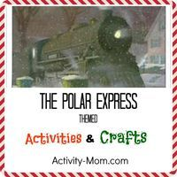 Polar Express Themed Activities and Crafts Book Reading activity for children